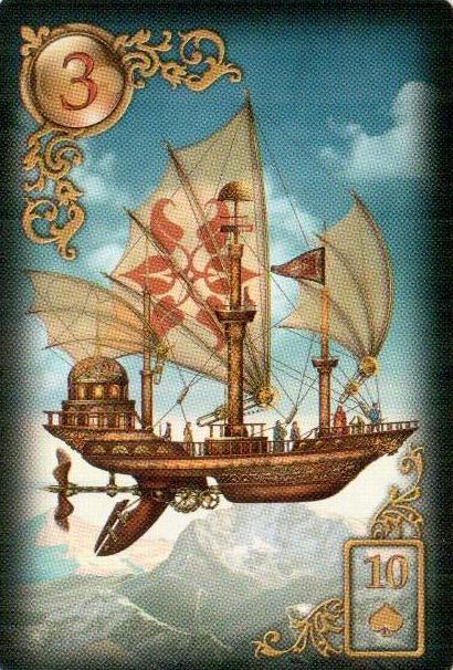 3-Корабль-Карты Ленорман